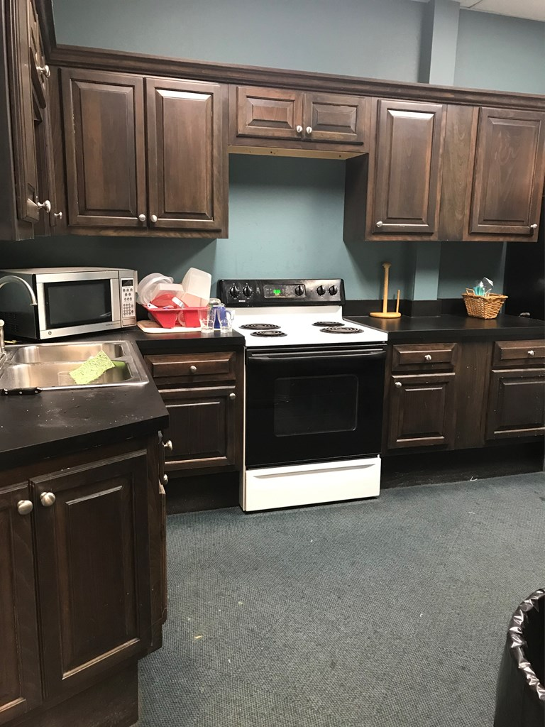 Kitchen in retail business